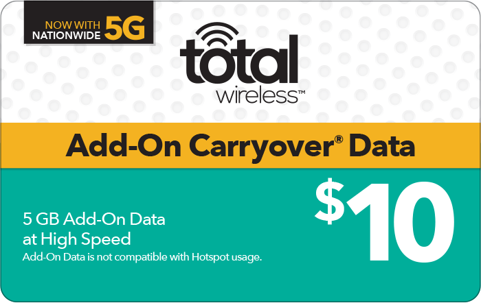 Total Wireless Prepaid Phone Card (e-delivery)
