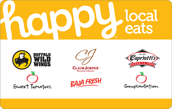 Happy Local Eats West Gift Card
