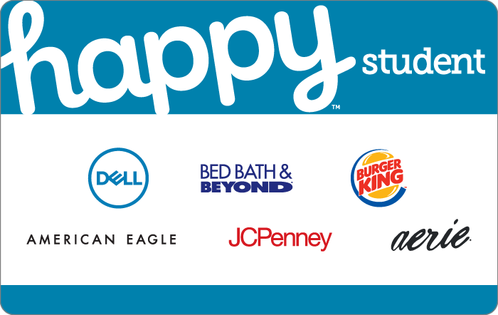 Happy Student Gift Cards