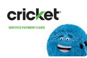 Cricket Wireless Prepaid Phone Card (e-delivery)