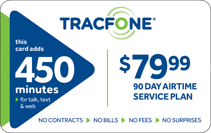 Promotion of TRACFONE $79.99 Prepaid Phone Cards (e-delivery)