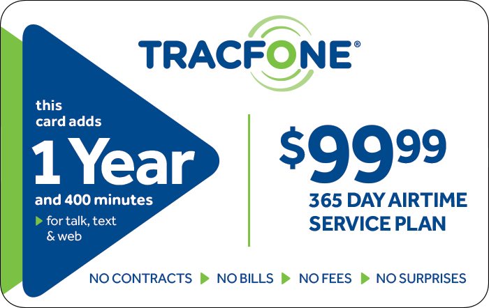 Promotion of TRACFONE $99.99 Prepaid Phone Cards (e-delivery)